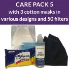 PPE care pack 5 - cotton masks