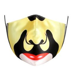 DZ485b - Kids polyester face mask - yellow