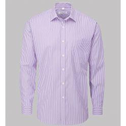 C41 - Lilac stripe mens shirt