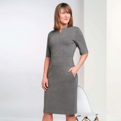 Brook Taverner Celeste dress grey