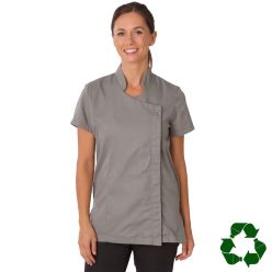 Dennys Helena Beauty Tunic With Zipped Asymmetric Design