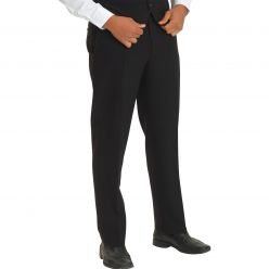 Dennys Men's Black washable Trousers