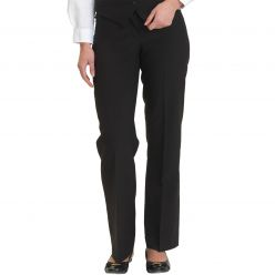 Dennys Women's Black washable Trousers
