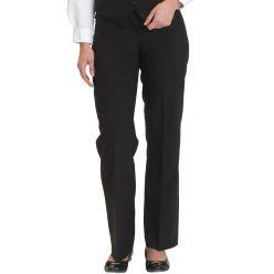Dennys Women's Black washable Trousers