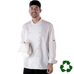 Dennys Easy-Care Long Sleeve Chefs Jacket