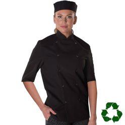 Dennys Easy-Care Short Sleeve Chefs Jacket