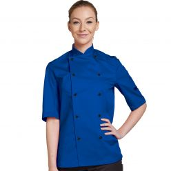 Dennys Short Sleeve Chefs Jacket in 9 Colours