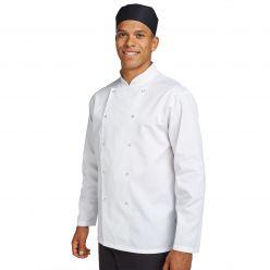 Dennys Budget Long Sleeve Chef Jacket