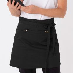 DE115 Le Chef prep utility waist apron black