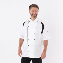 DE11 Le Chef hardwearing chef jacket with staycool system