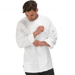 Le Chef Cool & Lite White Long Sleeve Jacket
