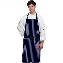 Le Chef Professional Narrow Striped Apron