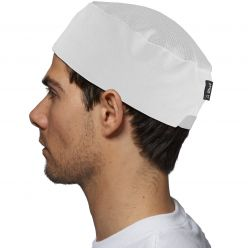 Le Chef Elasticated Cap with StayCool System Crown