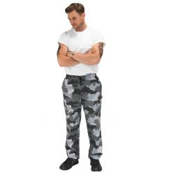 Le Chef Print Design Trousers