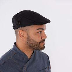 DG132 adjustable stretch flat cap