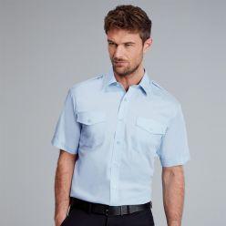 Disley Men's Short Sleeve Pilot Shirt