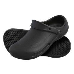 DK135- Black Le Chef eva clog, footwear