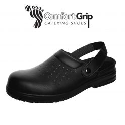 Comfort Grip Shoe with a Perforated Upper