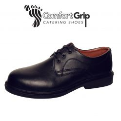 Comfort Grip Black, Executive Non-Slip Shoes