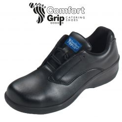 Comfort Grip Women's Lace-Up Safety Shoe