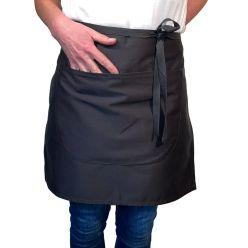 DP121C Dennys waist apron black