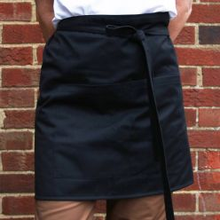 DP401 Black bistro apron