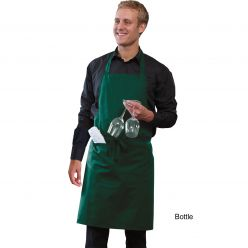 Dennys Bib Apron With Pocket And Adjustable Halter