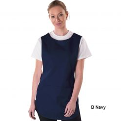 Dennys Polycotton Tabard With Pocket - 15 Colours