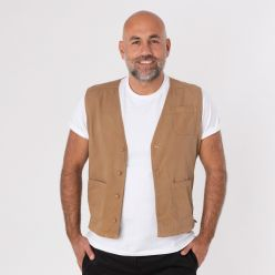 DS50 Khaki Originals waistcoat
