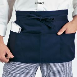 Dennys Money Pocket Aprons With Self Material Ties