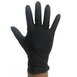 DW310 - black nitrile gloves