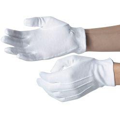 Dennys Elastic Cuff Cotton Gloves