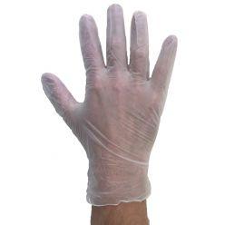 DW79 - Cream vinyl glove - m