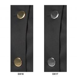 Joseph Alan Large Metal Buttons in Gilt or Chrome