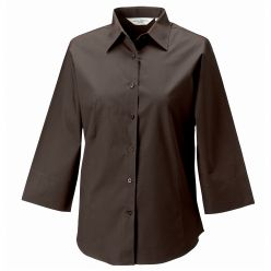 Russell Ladies 3/4 Sleeve Fitted Shirt