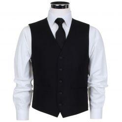 Joseph Alan Men's Herringbone Waistcoat