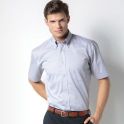 Kustom Kit Men's Oxford Short Sleeve Shirt