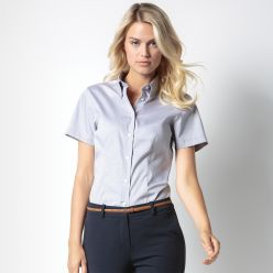 Kustom Kit Womens Premium Oxford Short Sleeve Shirt