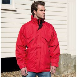 Result 3-in-1 Zip and Clip Men's Jacket