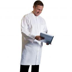 Dennys Unisex White Food Coat