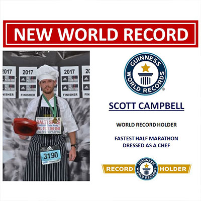New world record - Scott Campbell