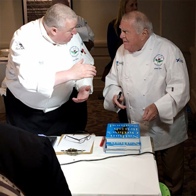 Chef Albert Roux and Chef Joe Queen – Scottish Chefs Conference 2016