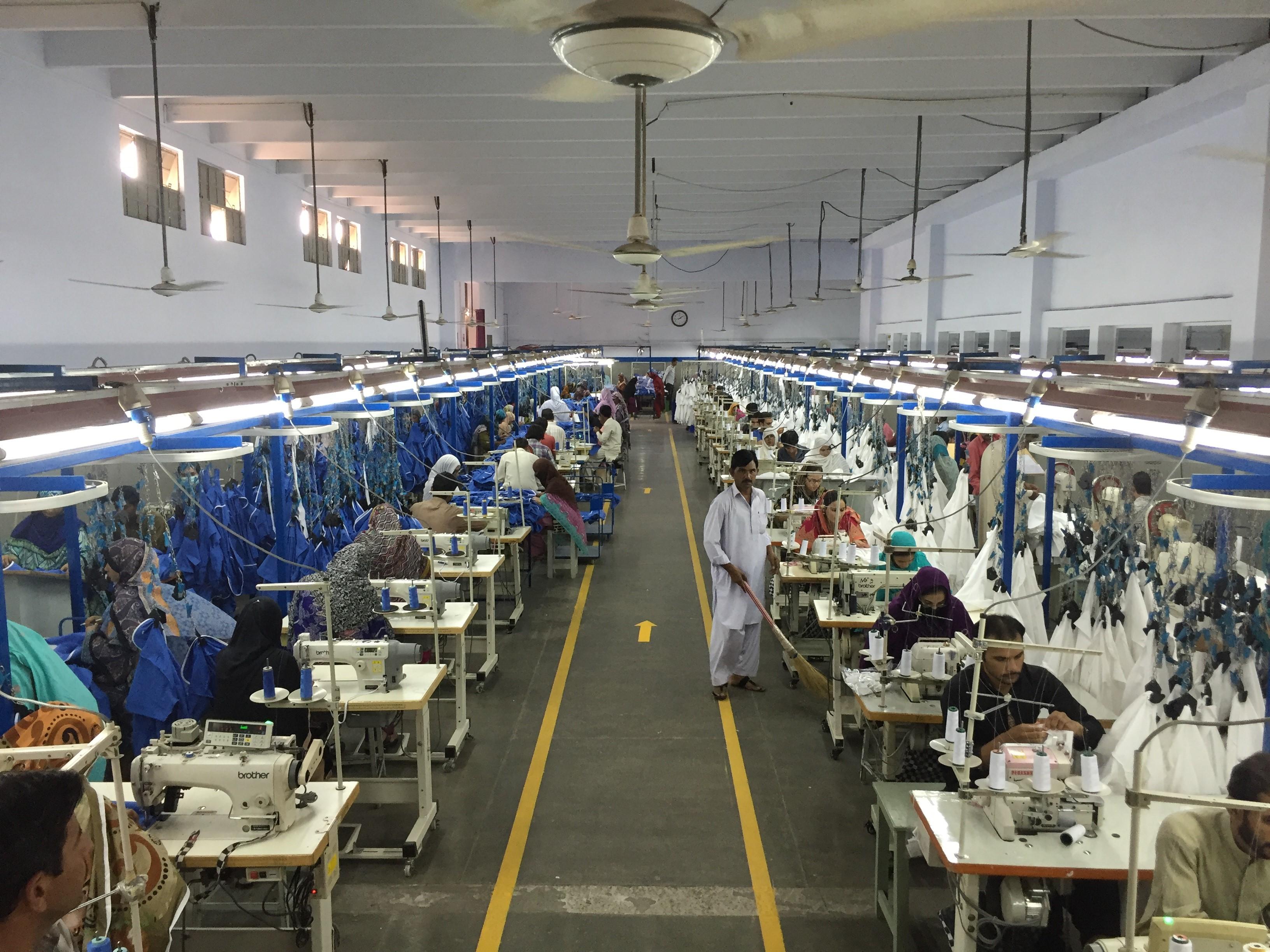 Pakistan factory