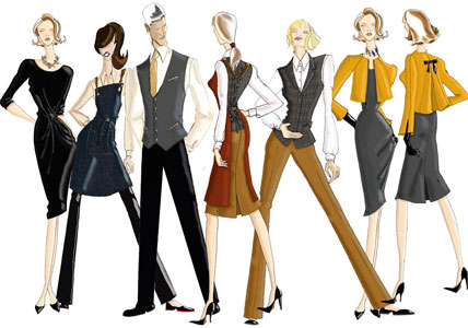 Dennys Brands for clothing for hospitality and workwear