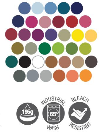 bib apron dennys dp200 colours