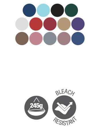 bib apron dennys dp10 colours