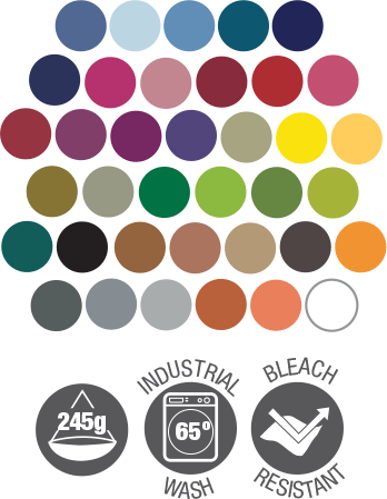 bib apron dennys dp210 colour