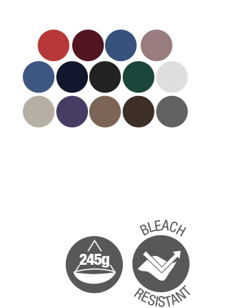 bib apron dennys dp55 colour