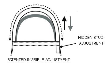 invisible adjustment halter bib apron