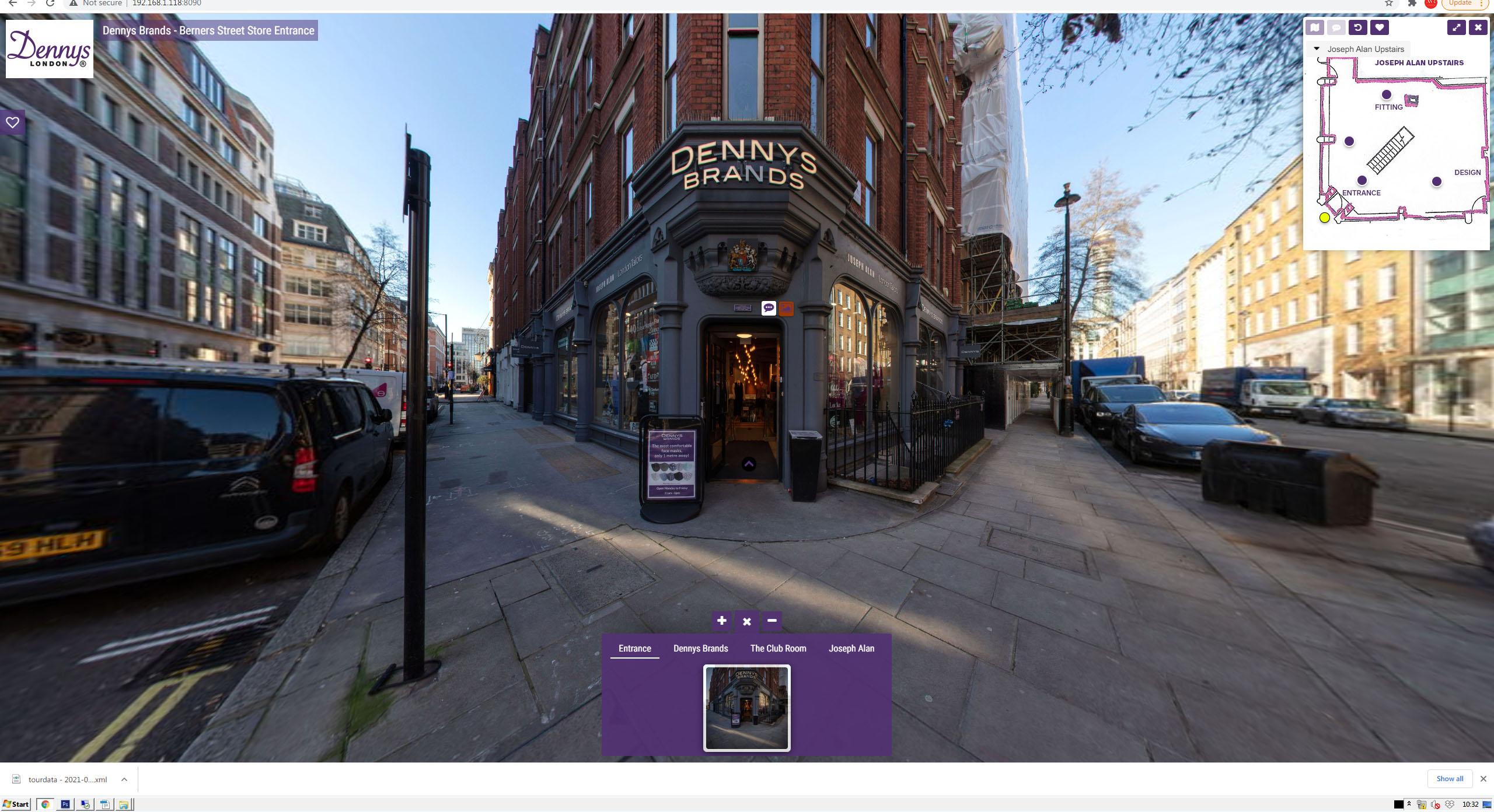 Dennys Brands Virtual Roadside View